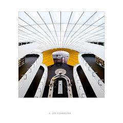 Research Library No2 (les forrester) Tags: architecture interiors library berlin modern city yellow fujifilm fuujifilmuk fujixseries
