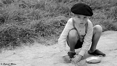 Boy with beret - WWII Camp Ploudalmézeau (patrick_milan) Tags: beret child children cap hat boy