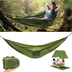 Xmund XD-HK1 4 in 1 Hanging Swing Bed Portable Hammock Multifunctional Camping Mat Outdoor Raincoat (1272679) #Banggood (SuperDeals.BG) Tags: superdeals banggood sports outdoor xmund xdhk1 4 1 hanging swing bed portable hammock multifunctional camping mat raincoat 1272679