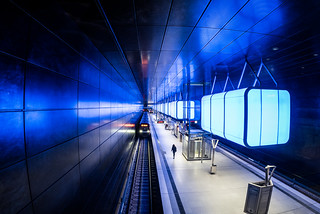 Blue station / where metal reigns