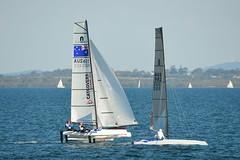 800_4642 (Lox Pix) Tags: queensland qld australia woodypoint hyc humpybongyachtclub winterbash foiling foilingcatamaran catamaran trimaran loxpix bramblebay boats