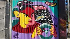 Lotte Alexis Smith... (colourourcity) Tags: melbourne burncity colourourcity nofilters awesome streetart streetartaustralia streetartnow graffitimelbourne graffiti lottealexis lottealexissmith vsgm vsgallery vsgallerymelbourne