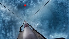 Click the red dot (eagle1effi) Tags: s7 fun self voiced controlled himmel schranke hdr grunge