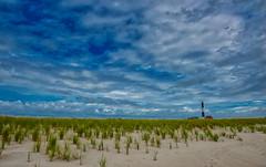 Fire Island 023 (Joe Marcone (3.1 Million+ Views)) Tags: fireislandnationalseashore fireisland fireislandlighthouse lighthouse beach longisland clouds sky