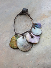 beads by greybirdstudio (greybirdstudio) Tags: greybirdstudio isle skye' scotland artisan adornment artist beach beachcomber bead ceramic clay craft pod organic nature blossom jewellery porcelain painting etsy uk textile hemp linen wax silver necklace shore shell roman glass wearable art earthy natural sculpture sculptural stitch sewn sewing stitchin sea ocean mer wave cluster urchin starfish hand handmade