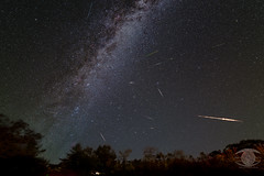 Perseid Meteor Shower and the Milky Way (Dark Arts Astrophotography) Tags: perseus perseids meteor meteors milkyway astrophotography astronomy space sky stars star science