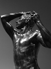 The Age of Bronze (failing_angel) Tags: 010518 london camdenborough bloomsbury britishmuseum museum rodin rodinandtheartofancientgreece sculpture augusterodin pheidias alexisrudierfoundry ageofbronze parthenon