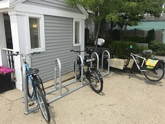 2018 AFTER - Bus Stop (rikahlberg) Tags: provincetown bike rack cape cod commission community preservation act public fixation saris corral bicycle capecod cpa