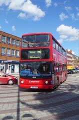 SLN 18208 - LX04FWU - BEXLEYHEATH BROADWAY - WED 8TH AUG 2018 (Bexleybus) Tags: bexleyheath broadway shopping town centre kent da7 tfl route stagecoach london selkent plumstead pd adl dennis trident alx400 alexander 96 18208 lx04fwu