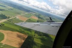 Raid on Oshkosh (dpsager) Tags: 2018 aluminumovercast b17 boeingb17g dpsagerphotography eaaoshkoshairshow flyingfortresses oshkosh wisconsin aircraft airplane airshow eaa airventure osh18