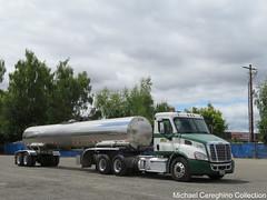 LTI Milky Way Freightliner Cascadia, Truck# 3783 (Michael Cereghino (Avsfan118)) Tags: lti lyndem transport inc milky way freightliner cascadia daycab truck semi trucking tanker tank trailer
