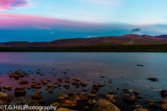 scottish sunset loch_ (T.g.h.photography) Tags: scottish highlands lohc water blue purple sunset glow landscape photography rocks mountains clouds scenery stunning scotland mirloch
