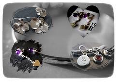 hecho a mano/handmade (quietpurplehaze07) Tags: 7dwfcrazytuesdaystheme hechoamano handmade jewellery clare silversmith purple amethyst