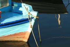boat resting_calm sea (spicros78) Tags: sea boat piraeus sun sunrise greece canon50d shot walking morning calm relax