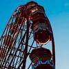 Sunlight reflected: Edinburgh's Festival Wheel