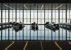 Waiting (Septimus Low) Tags: fujifilm x30 doha cities airport