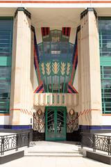 Hoover Building-8 (Paul Dykes) Tags: perivale england unitedkingdom gb uk artdeco architecture egyptian hooverbuilding