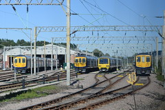 NT 323227, 319367, 319374 and 319380 @ Allerton depot (ianjpoole) Tags: northern rail class 323 323227 319 319367 319374 319380 allerton depot