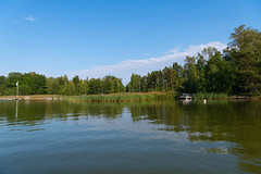 Summer evening reflection (JarkkoS) Tags: 2470mmf28eedafsvr boat boating d850 espoo finland forest landscape luonto nature reflection sky summer suvisaaristo uusimaa fi