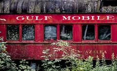 Gulf Mobile & Ohio (MTR70) Tags: trains train railroad diner red vintage window windows