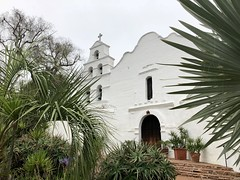 Mission San Diego de Acala, San Diego, CA (- Adam Reeder -) Tags: bellcote patio picketfence mission san diego de acala ca pot church greenhouse mosque birdhouse monastery parkbench 2018 06 21 328 1171 grantville california united states photo jpg apple iphone x y2018 m06 d21 lat330 lon1170 garden tree architecture potted plant