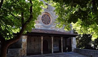 Colegiata de San Cosme y San Damián de Covarrubias, Burgos, España.