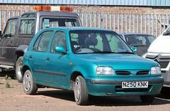N250 KNK (Nivek.Old.Gold) Tags: 1996 nissan micra 13 slx auto 5door herbertrobinson cambridge