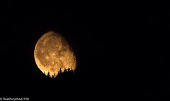 Levé de lune sur le Pilat- moon set (Deathscythe42) Tags: night tamronsp150600vcusd paysage loire rhônealpes nature eos70d lune moon canon nuit saintétienne landscape