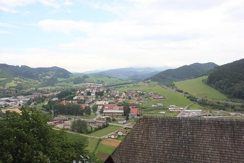 Widok z Zamku Orawskiego