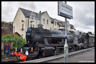 No 45157 The Glasgow Highlander (407) 16th July 2018 Fort William