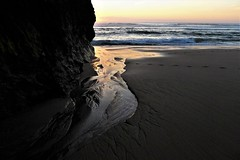 infinito silêncio (*F~) Tags: portugal beach ocean atlantic light life time tempo silence emptiness silêncio crepúsculo natureza