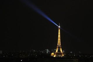 Tour Eiffel # 4 By Night