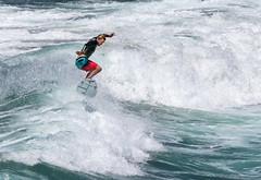 Frozen in Time - Explore (Ron Drew) Tags: nikon california huntingtonbeach surfcity water surfer athlete guy pacificocean wave ocean d850 usa summer wet boardshorts