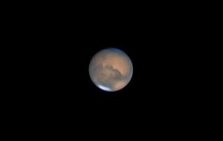 Mars August 5. 2018.