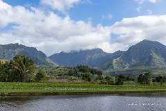 Hanalei Kauai (strjustin) Tags: hanalei kauai hawaii landscape mountains clouds beautiful