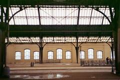 The railway station (Ігор Кириловський) Tags: railway station c41 135 35mm lviv ukraine viewfinder agfaoptima1035sensor agfa solitars40mmf28 film kodakcolorplus200 hoyauv0 markstudiolab chernivtsi