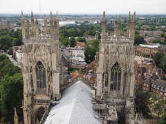 York Minster (Hammerhead27) Tags: architecture scenic historic old olympus city scene view roof tower church minster yorkshire york