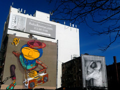osgêmeos & JR in East Village, NYC (Clara Ungaretti) Tags: jr osgêmeos graphic graphicdesign design graffiti art arte artist artista architecture wall colorful colors color colorido colored inspiration eastvillage manhattan nyc newyork newyorkcity novayork northamerica america us usa estadosunidos estadosunidosdaamérica unitedstatesofamerica unitedstates urban urbanart street streetlife streetphotography