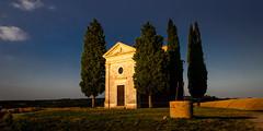 Vitaleta at Dusk (Beppe Rijs) Tags: 2018 italien juli sommer toskana italy july summer tuscany