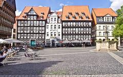 Fachwerk / Framework (schreibtnix on 'n off) Tags: reisen travelling deutschland germany hildesheim altstadt oldcity marktplatze marketplace häuser houses fachwerk framework olympuse5 schreibtnix
