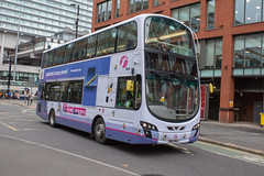 First Manchester BN61MWJ * In Explore* (Mike McNiven) Tags: first manchester piccadilly piccadillygardens langley middleton wright eclipse volvo gemini2 hybrid