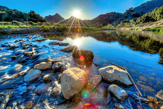 Malibu Creek State Park Epic Sunset Landscape Nature Fine Art Photography!  Wide Angle Nikkor 14-24mm F2.8 Lens Malibu Canyon Spring Sunset! Nikon D800E Dr. Elliot McGucken Fine Art Photography for Los Angeles Gallery Show!