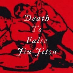 Death To False Jiu-Jitsu (Spencer Slasheur) Tags: bjj brazilianjiujitsu jiujitsu red design art wrestling texture halftone slasheur