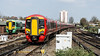 387201 (JOHN BRACE) Tags: 2015 bombardier derby built class 387 electrostar emu 387201 seen east croydon station gatwick express livery