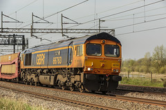 212A2928 (Phil_the_photter) Tags: class66 class68 class90 66546 66088 66594 90049 90016 66763 heamiesbridge wcml westcoastmainline railfreight gbfr lightengine