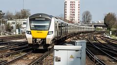 700101 (JOHN BRACE) Tags: 2014 siemens krefeld germany built desiro city class 700 emu 700101 seen east croydon thameslink livery