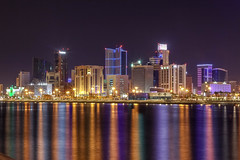 Manama City Lights (AhmediMax) Tags: manama lights buildings bahrain bhr capital
