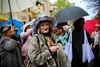 No guardar los paraguas que volverá a llover (Angeles h) Tags: streetphoto urban people fiestas paraguas street fashion