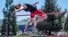 Zero Gravity (acase1968) Tags: sou track field justin turner southern oregon university ashland high jump nikon d500 nikkor 70200mm f28g raiders cross necklace jumper raider open invitational meet ginger red redhead