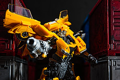 Bumblebee (Naughty Danny) Tags: action autobot autobots baydock bumblebee closeup collectable collectables color containers deluxeclass dock emotion hasbro horizontal incombat movie nopeople robots scifi sciencefiction storage studioseries takara takaratomy tomy toy toys transformers transformersfranchise transformersmovie vertical